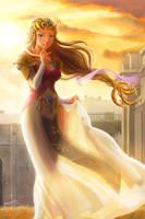 Princess Zelda by chanseven