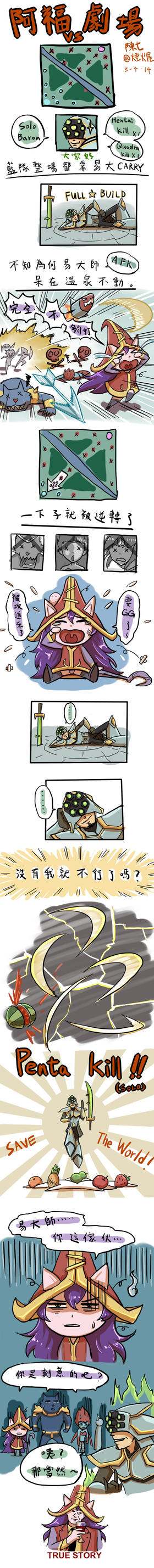 [LOL]Funny! The Ultra Rapid Fire! by chanseven