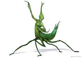 Mantis Warrior