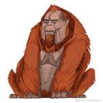 Grumpy Orangutan