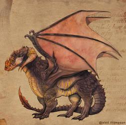 The Lava Dragon
