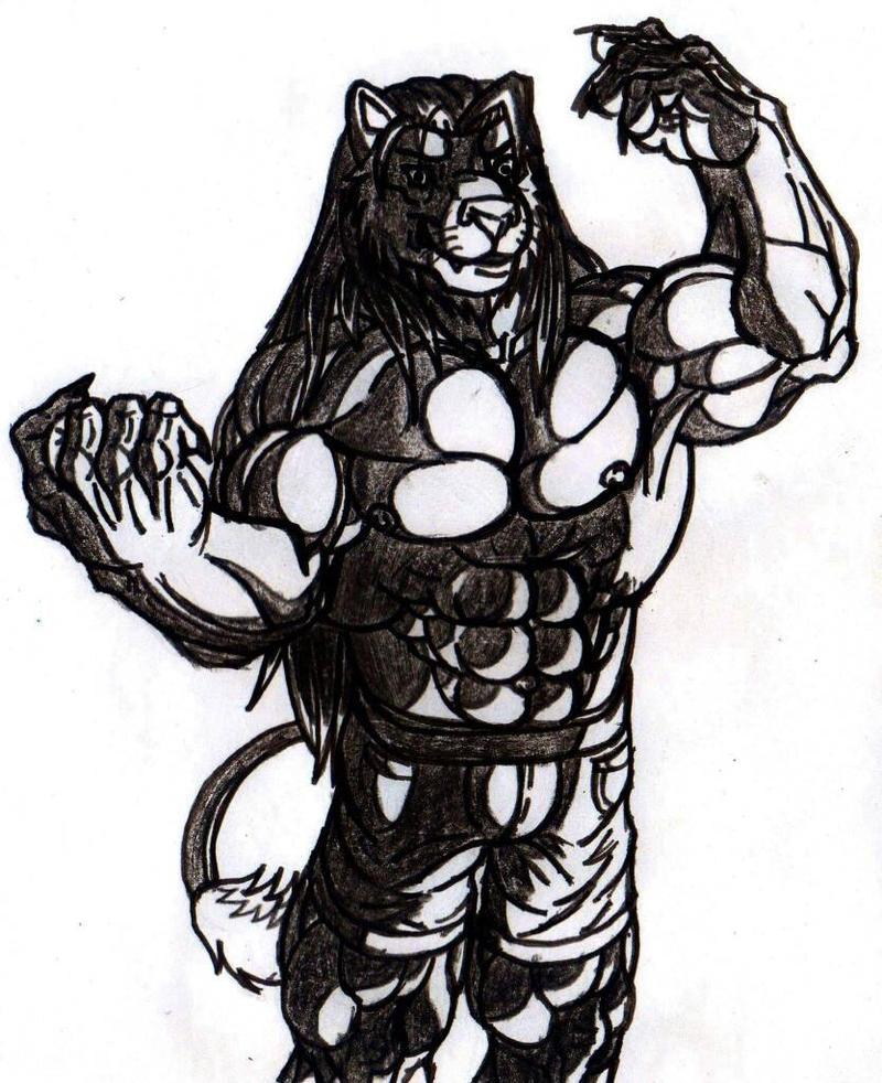 bonito muscular