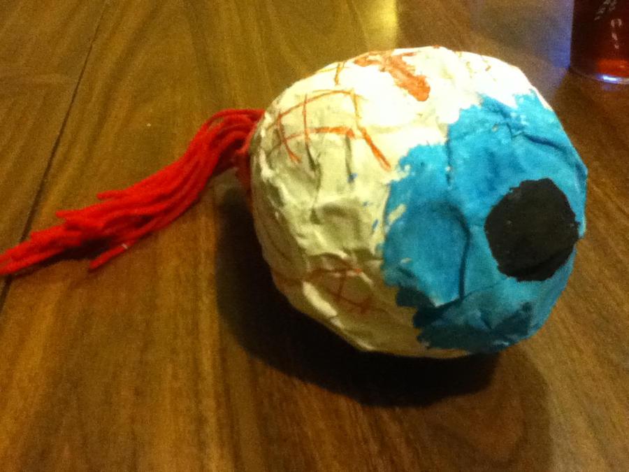 Paper Mache Eye By Deathra Horrorlover On Deviantart