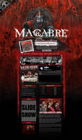 MACABRE MYSPACE LAYOUT by isisdesignstudio