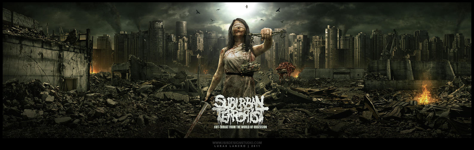SUBURBAN TERRORIST mp by isisdesignstudio