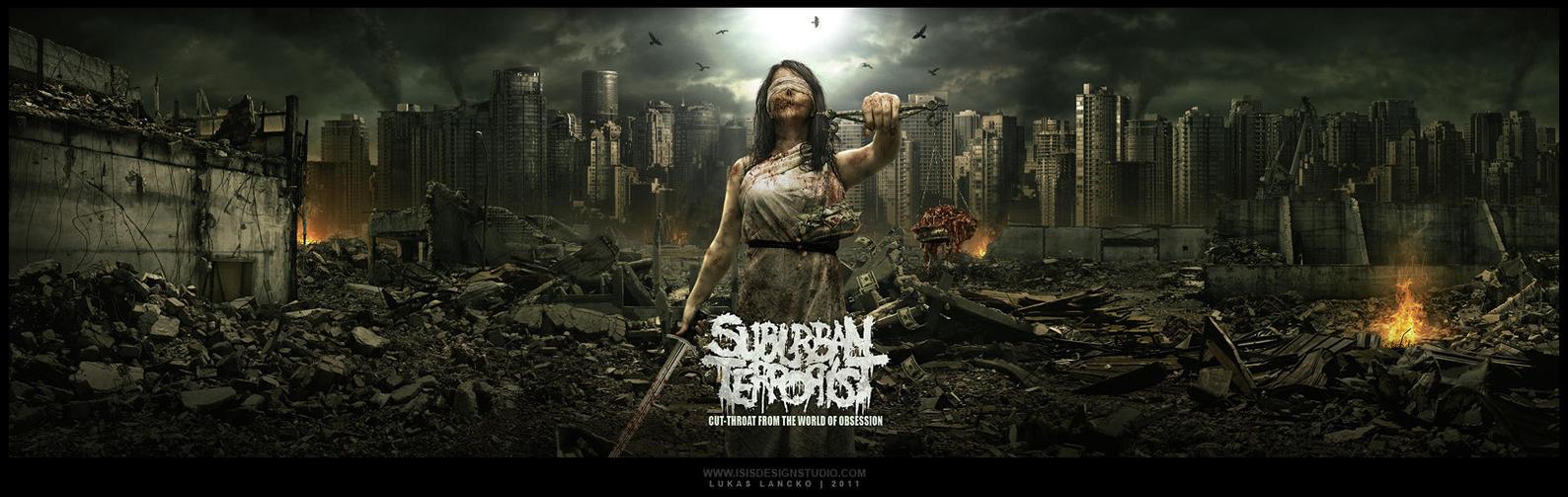 SUBURBAN TERRORIST mp by isisdesignstudio