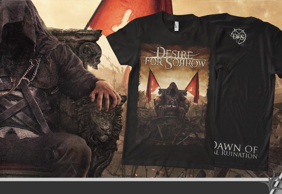 DESIRE FOR SORROW tshirt