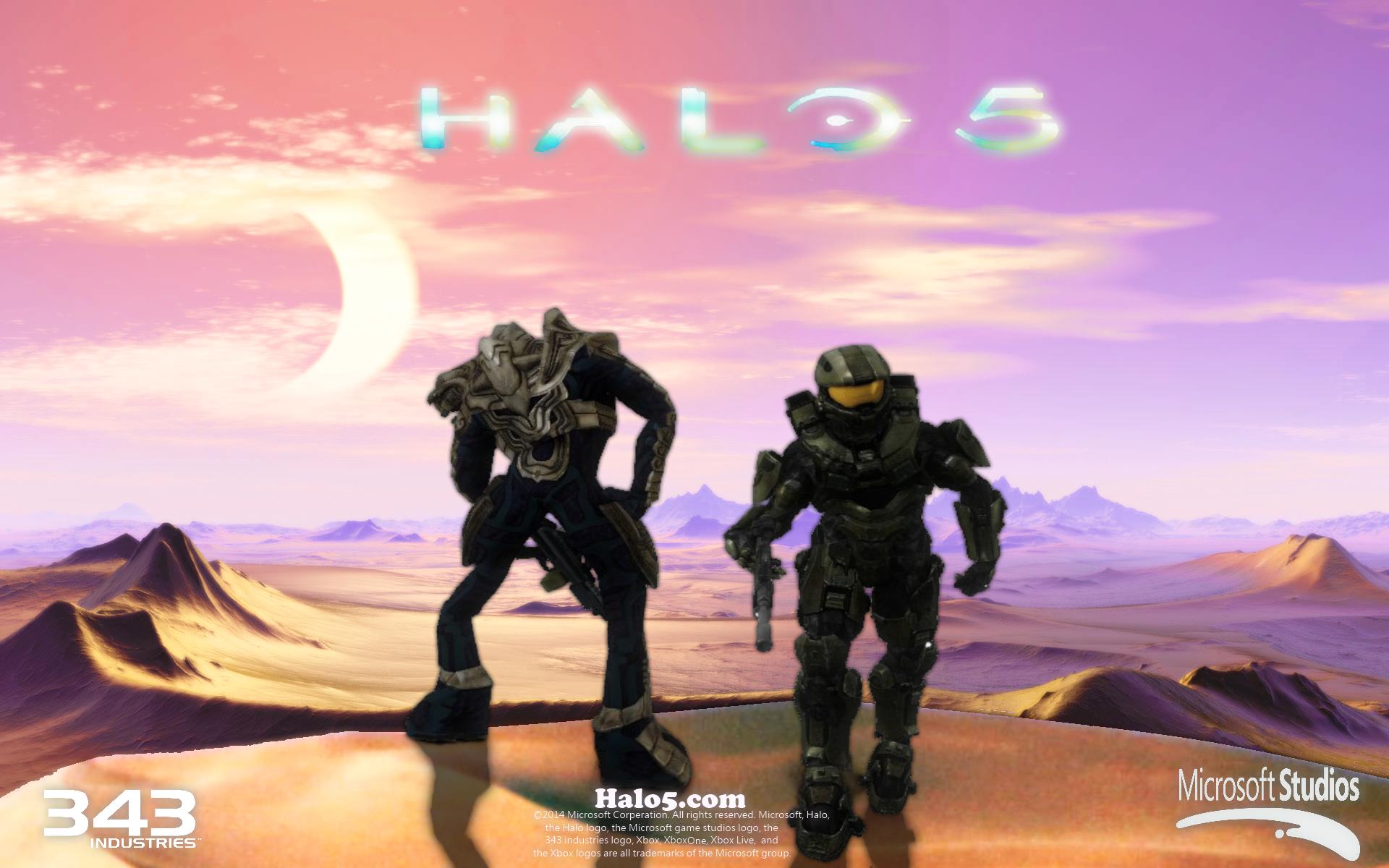 Halo 5 teaser poster by Ganitine on DeviantArt
