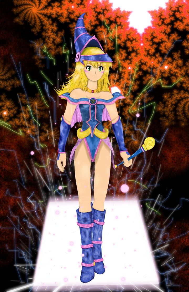 Dark Magician Girl 2 - Infinity by Ganitine