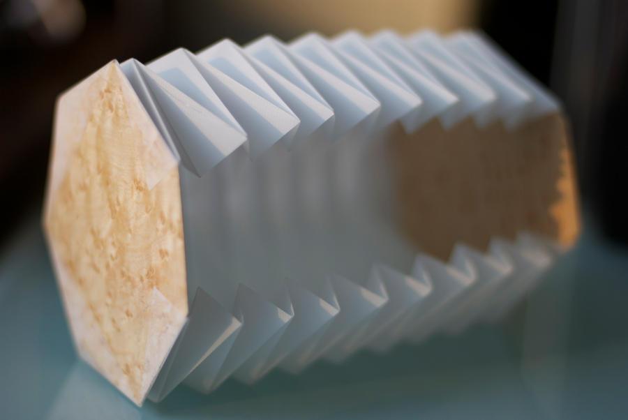 Lamp folding paper shade by halfamazin on deviantart lamp folding paper shade by halfamazin mozeypictures Gallery