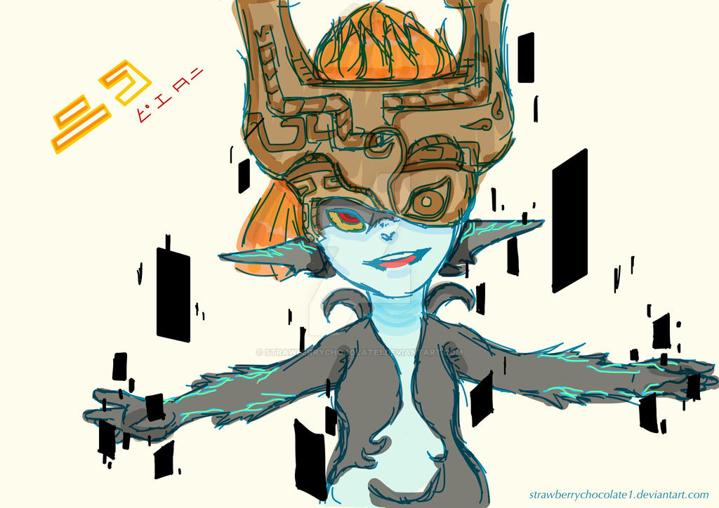 Midna's New year... by StrawberryChocolate1