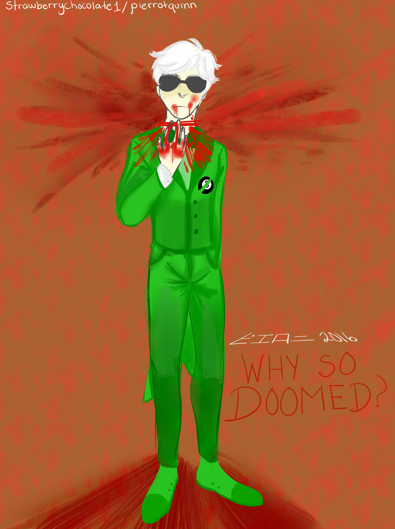 doomed dave by StrawberryChocolate1