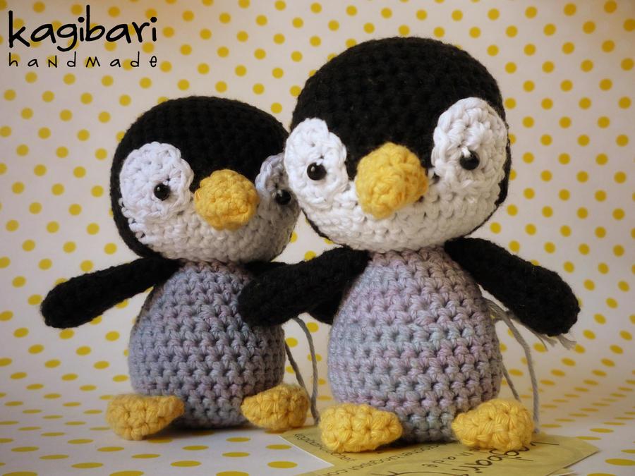 Tutorial Amigurumi Pinguino : Amigurumi penguin by celesblur on deviantart