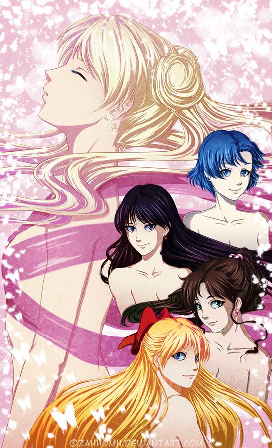 Inner Senshi by ZahhoMii