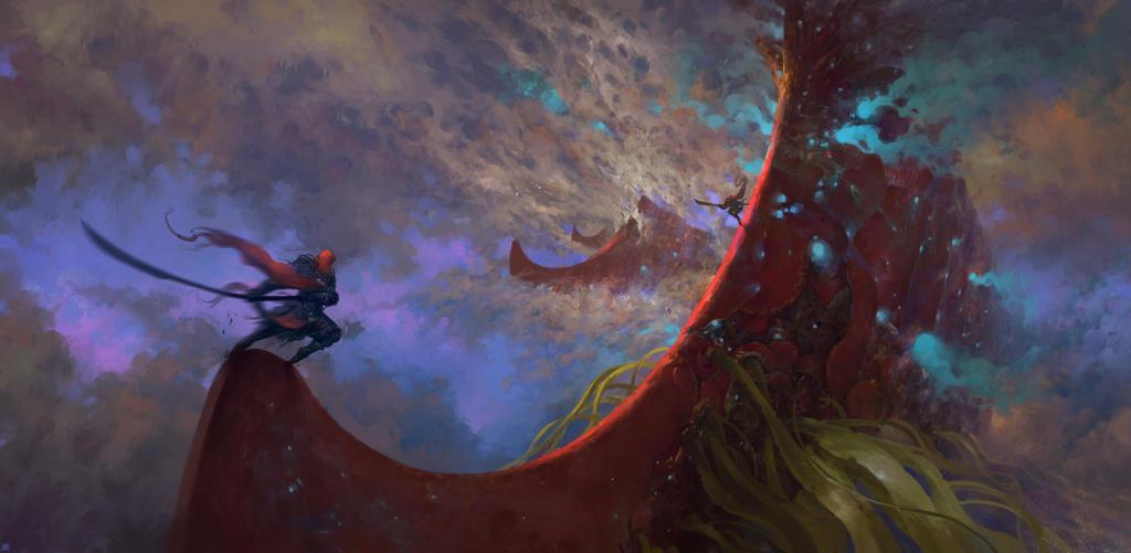 Battle in the Sky by MaxBedulenko