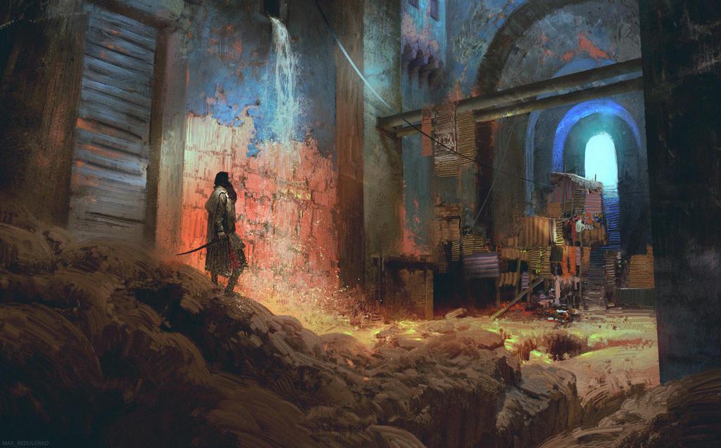 Abandoned Bazaar by MaxBedulenko