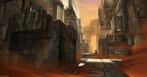 Martian bunkers