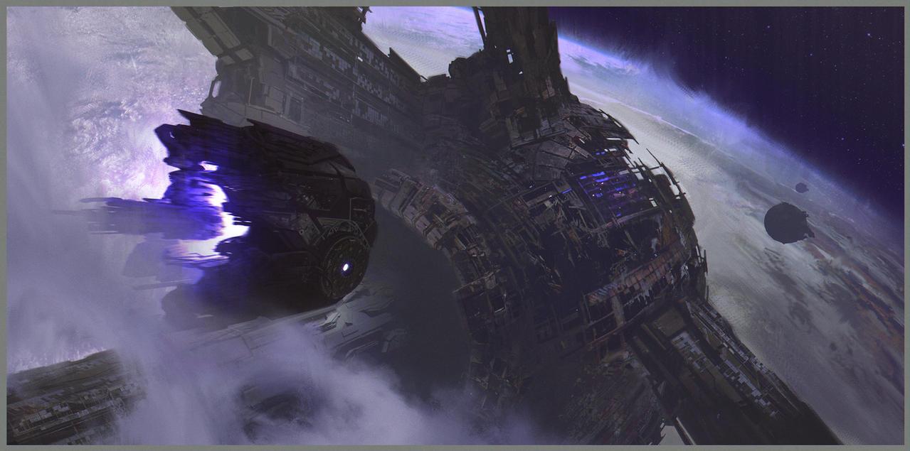 Wrecked Ark by MaxBedulenko