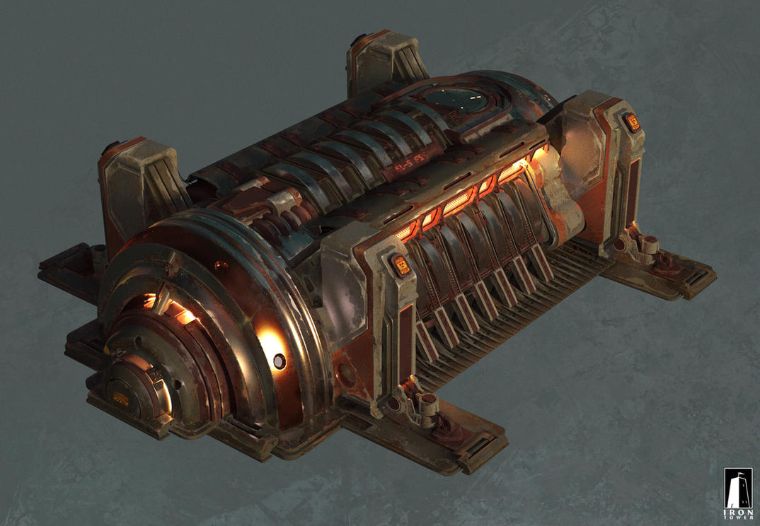 Concept art for the Iron Tower Studio #2 by MaxBedulenko