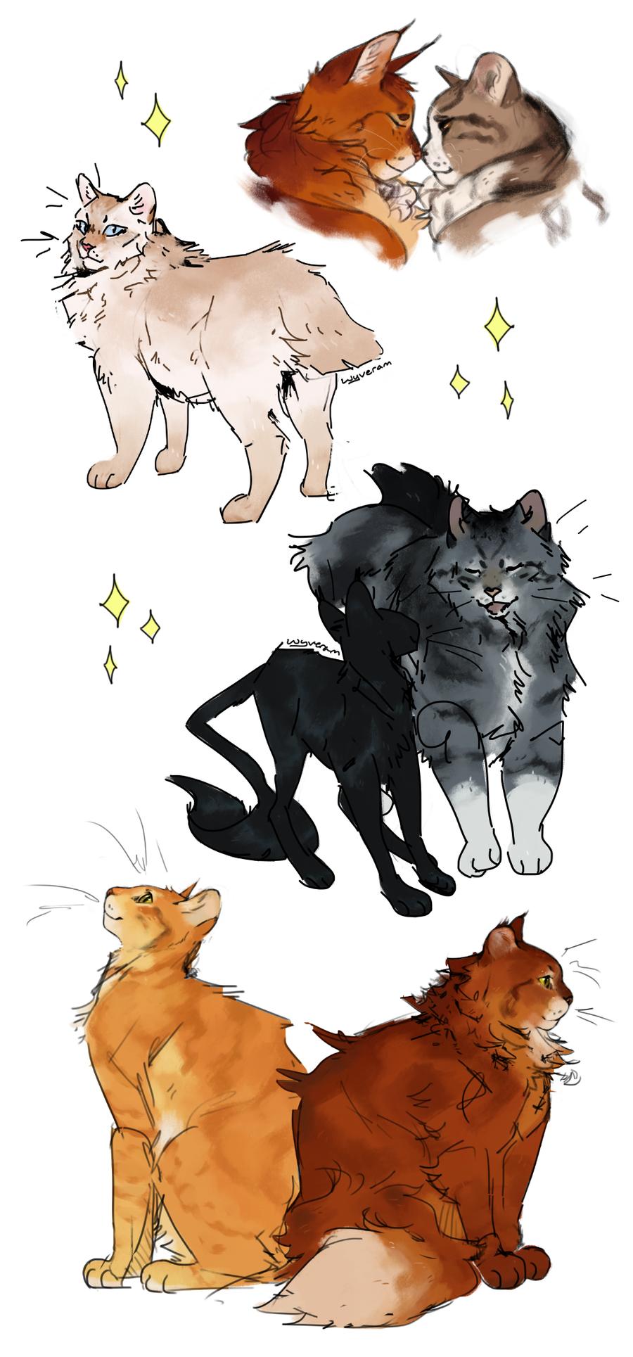 Firegray Warrior Cats