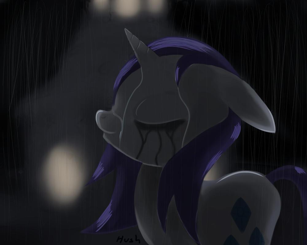 Rarity in the Rain by hushnowquietnow