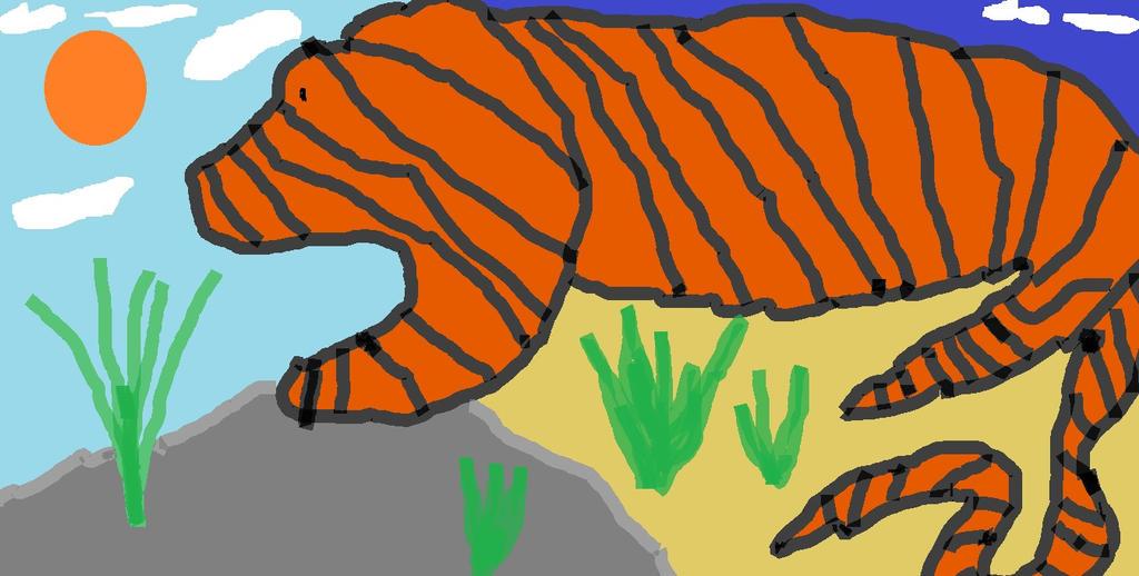 Dazed Tiger by Normk777