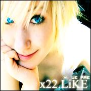 Hi. We are x22 Like. TEAMLOGO1 by zauBeRwaLDbewohNeRRR