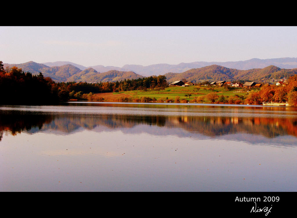Smartinsko lake by niwaj