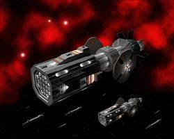 Interplanetary Warships by Vumpalouska