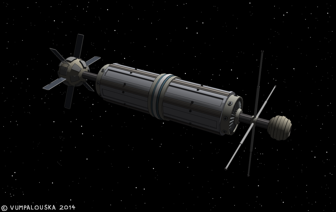 A Space Habitat by Vumpalouska