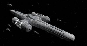 Omega Class Attack Carrier by Vumpalouska