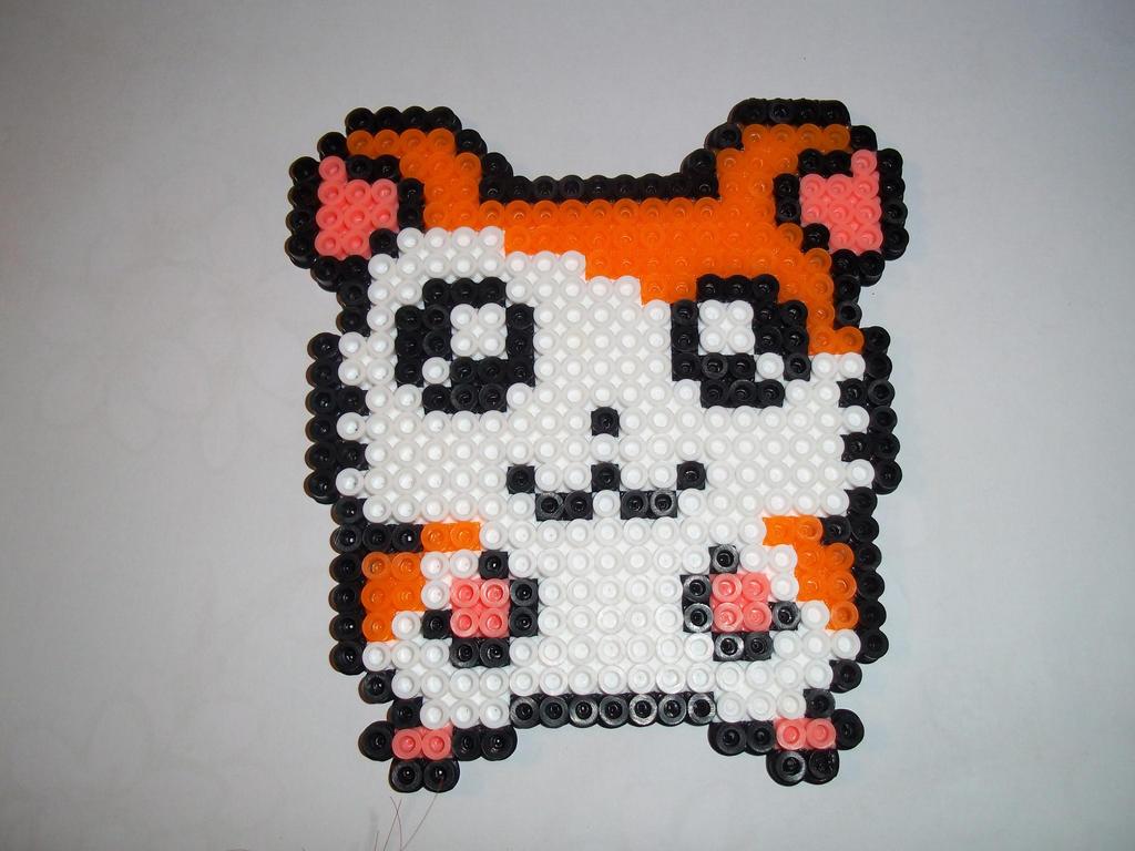 Hamtaro Perler Bead Craft by BamffaloCrafts on DeviantArt