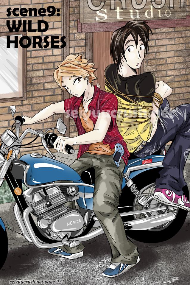 Seiyuu CRUSH! Scene9: Wild Horses - Miwa + Haruka by sore-zore