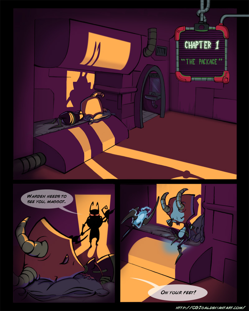 IZ-BTE Fan Comic: Ch1-Pg1 by CGIgal