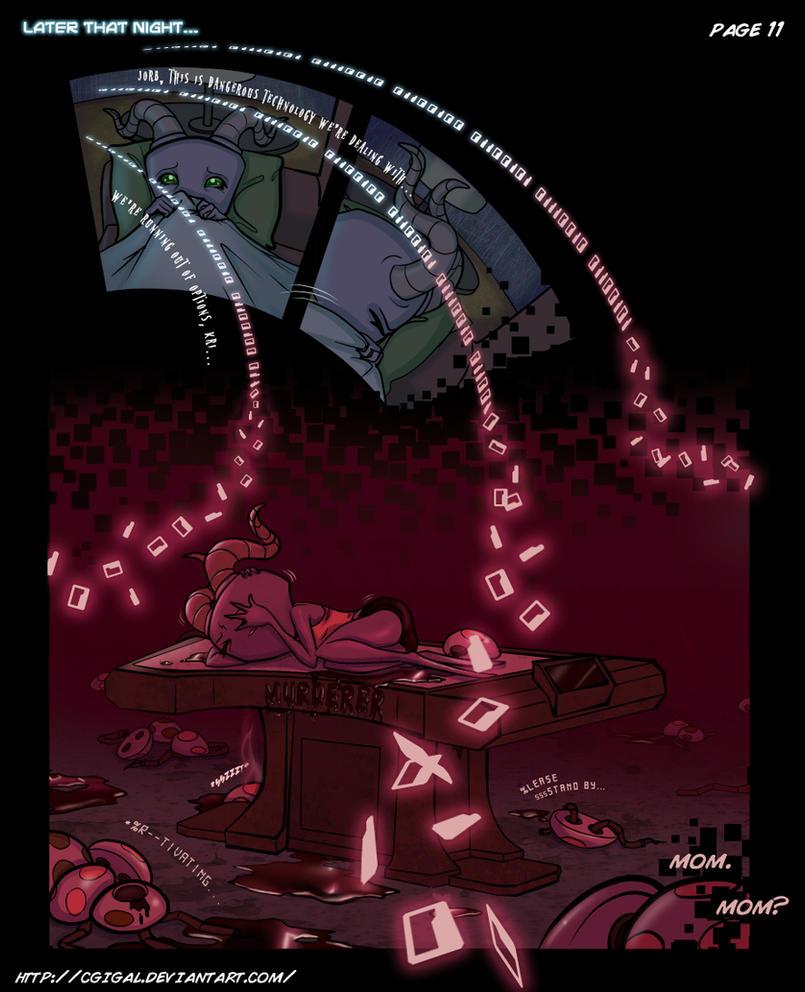 IZ-BTE Fan Comic: Ch3-Pg11 by CGIgal