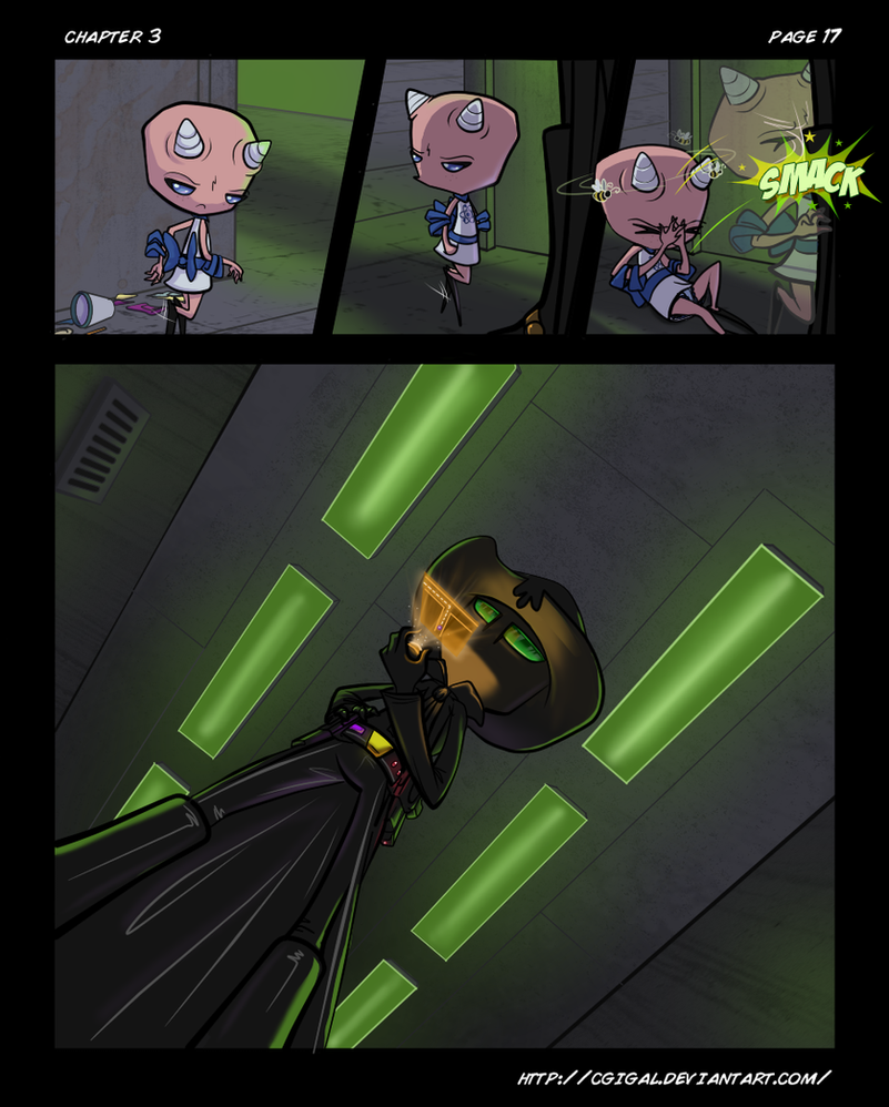 IZ-BTE Fan Comic: Ch3-Pg17 by CGIgal