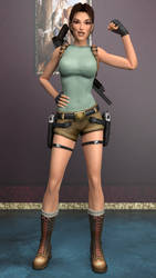 Lara Croft by Philosophoholic163