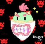 Bowser Jr. Pixel Art