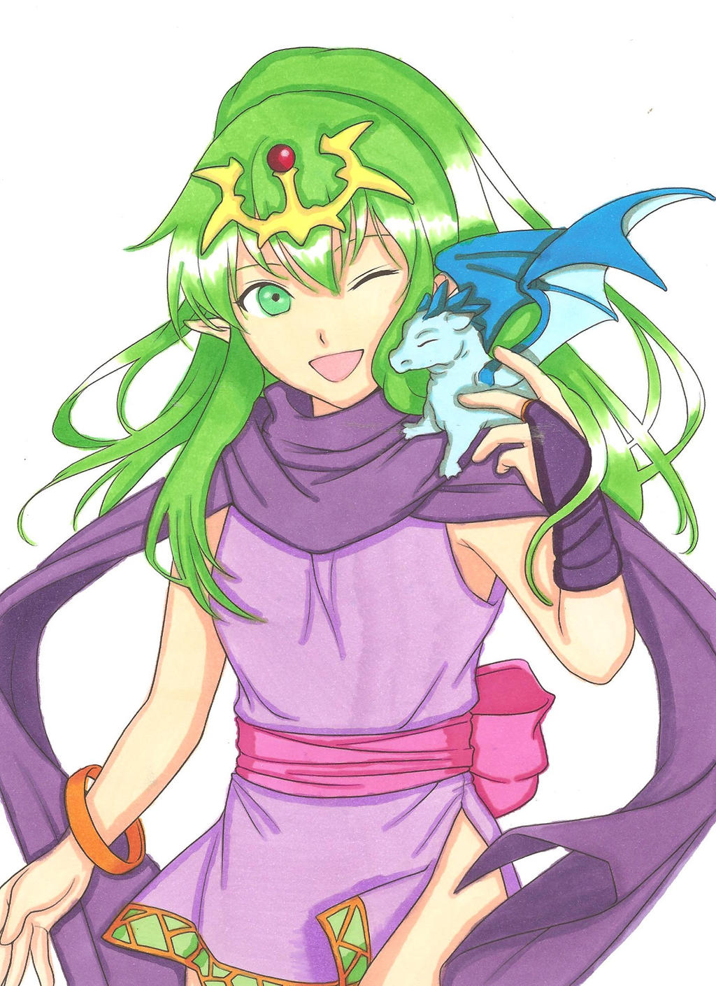 Tiki by ClaireRoses on DeviantArt