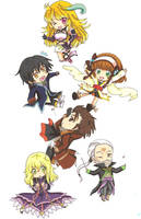 Tales of Xillia Chibi by ClaireRoses