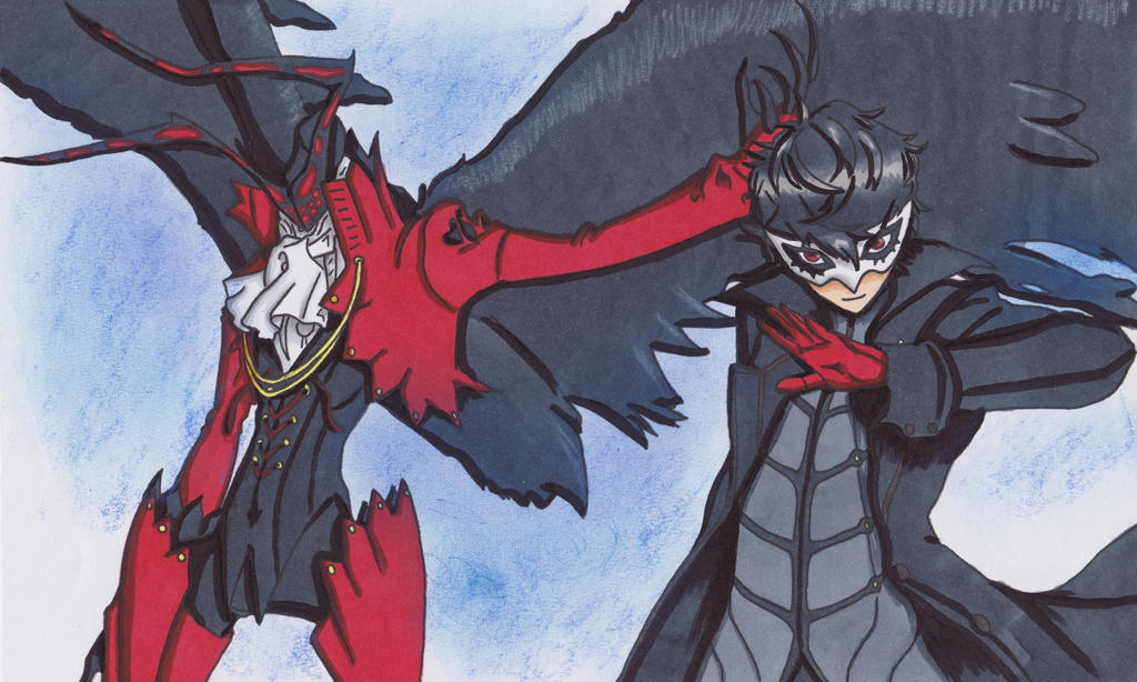 Joker and Arsene by ClaireRoses
