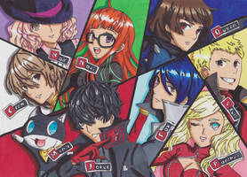 Persona 5:Let Us Start The Game