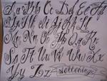 fancy script