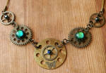 Spectral Eyes Statement Necklace