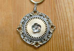 Blossoming Gear Necklace