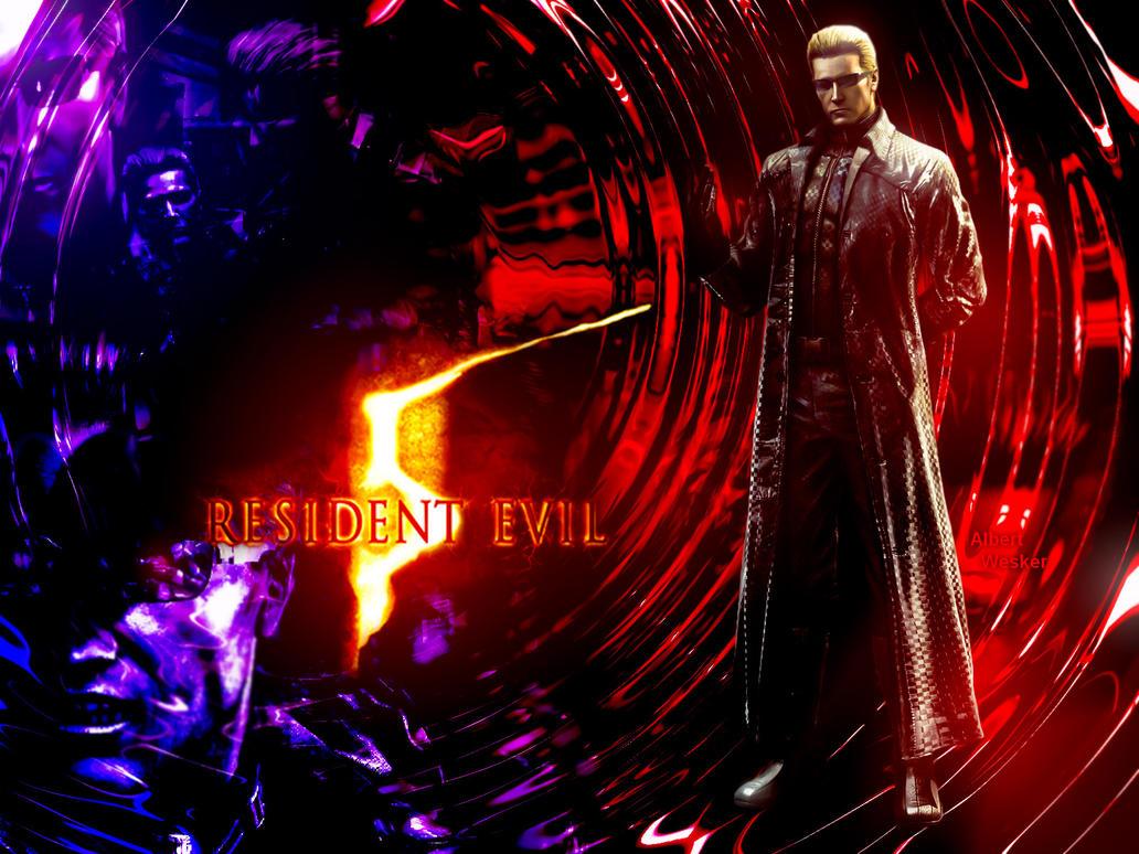 Resident Evil 5 Albert Wesker by DANCE-of-COBRA