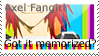 axel fangirl stamp by StarofDusk