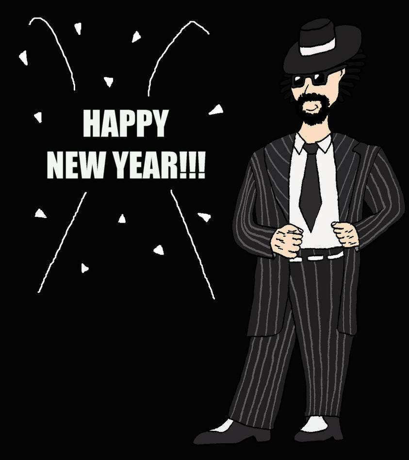 The New Year is Here by BigJohnnyCool