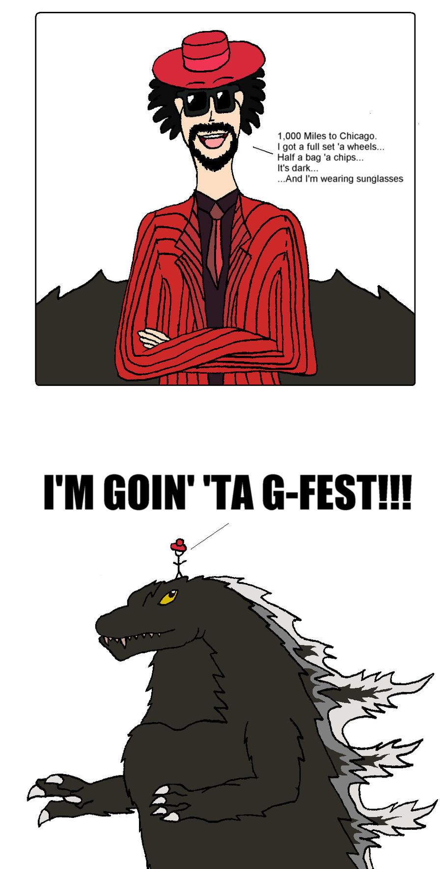 I'M GOIN' 'TA G-FEST by BigJohnnyCool