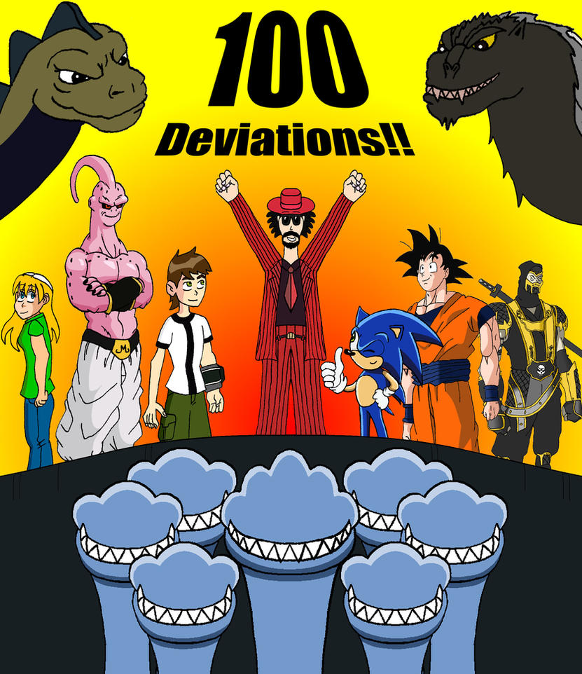 100th DEVIATION CELEBRATION by BigJohnnyCool